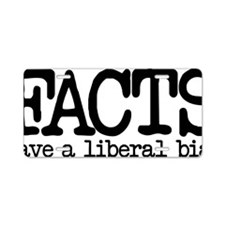 facts_onw Aluminum License Plate