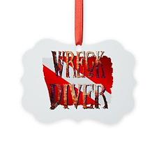 WreckDiver Ornament