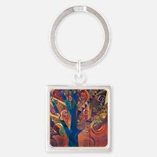 LARBRE DE VIE - The tree of Life Square Keychain