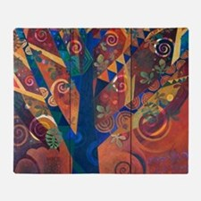 LARBRE DE VIE - The tree of Life Throw Blanket