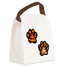tiger3 Canvas Lunch Bag