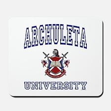 ARCHULETA University Mousepad