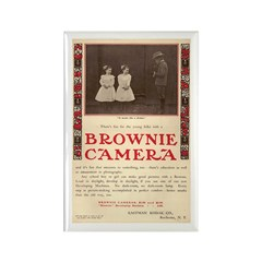 Brownie Camera Ad #4 Rectangle Magnet (10 pack)
