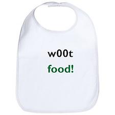 w00t food! bib