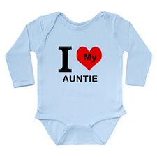 I Heart My Auntie Body Suit