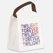 twilight forever watercolor by tw Canvas Lunch Bag