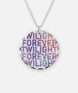 twilight forever watercolor  Necklace