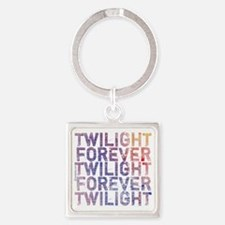 twilight forever watercolor by twi Square Keychain