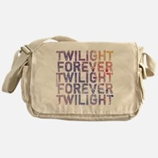 twilight forever watercolor by twida Messenger Bag