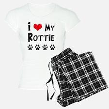 I-Love-My-Rottie Pajamas