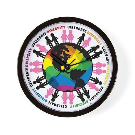 Diversity-LGBT Wall Clock
