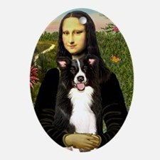 Mona Lisa - Border C - redone Oval Ornament