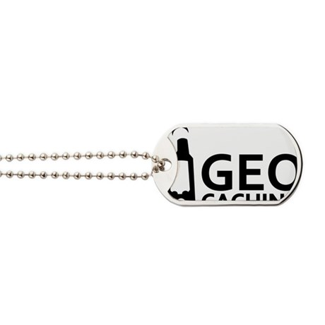 geocaching_word_gps Dog Tags
