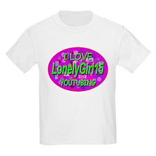 I Love YouTubing Kids T-Shirt