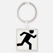 on_the_run Square Keychain