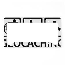 geocaching_tripple_word License Plate Holder