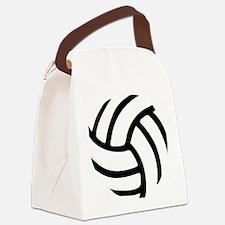 volleyball_birdview2 Canvas Lunch Bag