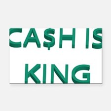 cash Rectangle Car Magnet