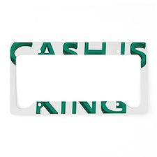 cash License Plate Holder