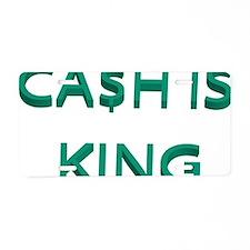 cash Aluminum License Plate