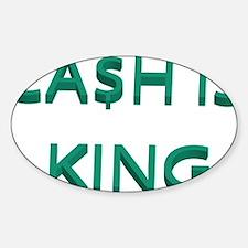 cash Sticker (Oval)