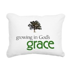 Gods graceTreeHuge Rectangular Canvas Pillow