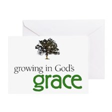 Gods graceTreeHuge Greeting Card