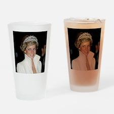 Princess Diana Hong Kong Drinking Glass