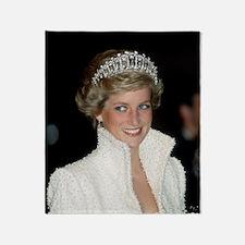Princess Diana Hong Kong Throw Blanket