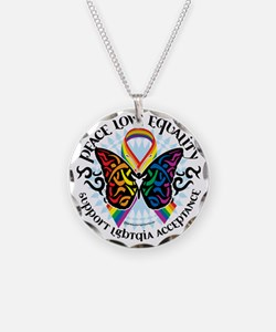 LGBTQIA-Butterfly-Tribal Necklace
