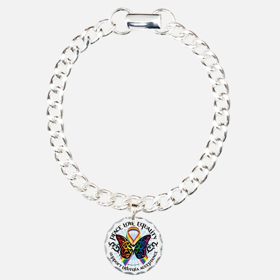 LGBTQIA-Butterfly-Tribal Bracelet