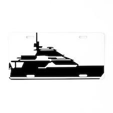 motoryacht_big Aluminum License Plate
