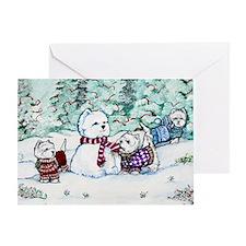 Christmas Card NEW 4.5 5.75 Greeting Card