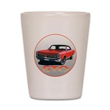 67GTOred-C3trans Shot Glass