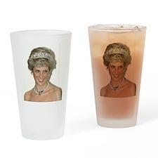 Princess Diana Germany Drinking Glass