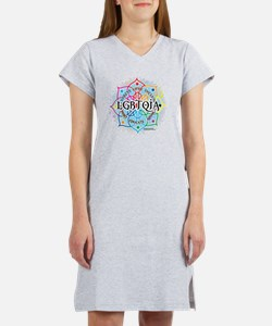 LGBTQIA-Lotus Women's Nightshirt