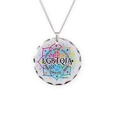 LGBTQIA-Lotus Necklace