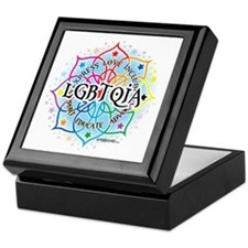 LGBTQIA-Lotus Keepsake Box
