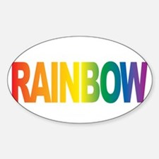 LGBTQIA-THINK-Rainbow-blk Decal