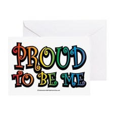 Proud-To-Be-Me-LGBT Greeting Card