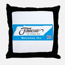 Welcome to Tennessee - USA Throw Pillow