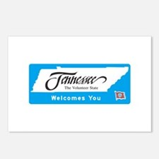 Welcome to Tennessee - USA Postcards (Package of 8