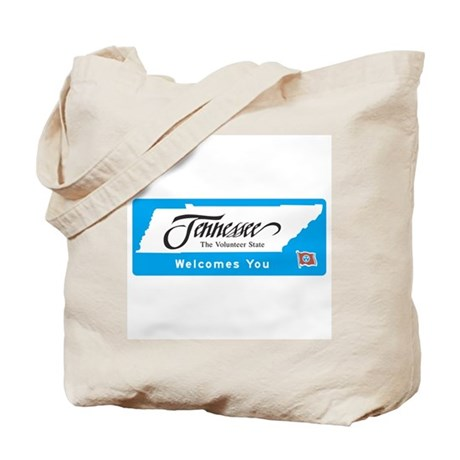 Welcome to Tennessee - USA Tote Bag