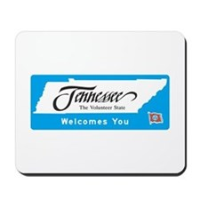 Welcome to Tennessee - USA Mousepad