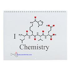 MolecularShirts Chemistry Wall Calendar