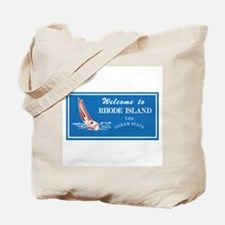 Welcome to Rhode Island - USA Tote Bag