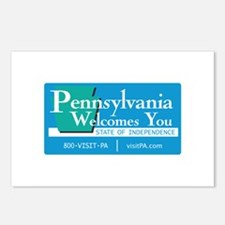Welcome to Pennsylvania - USA Postcards (Package o