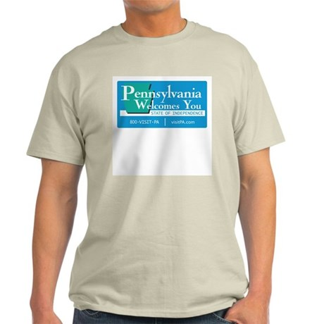 Welcome to Pennsylvania - USA Ash Grey T-Shirt