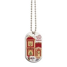 airedale terier card inside Dog Tags