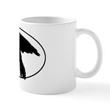 5x3oval_sticker_buteo-01 Mug
